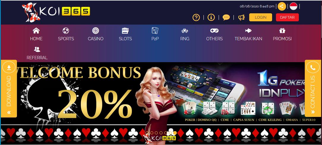 Jangan Ngaku Doyan Judi Poker Online Kalo Belum Bermain Di Koi365 Bandar Situs Judi Idn Poker Slot Online Terbaru